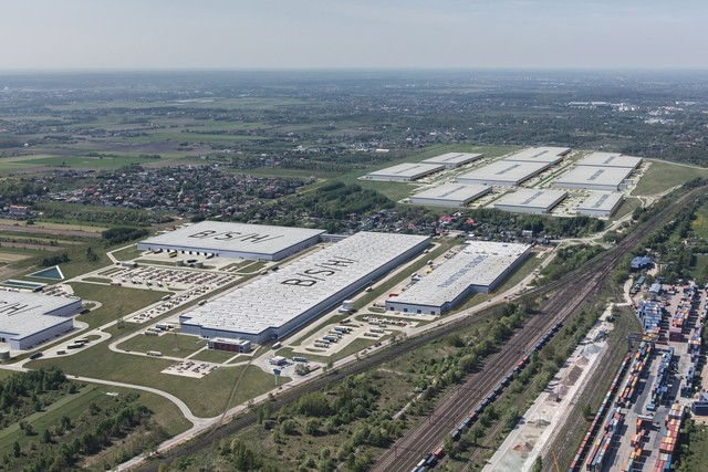 Central European Logistics HUB firmy Panattoni